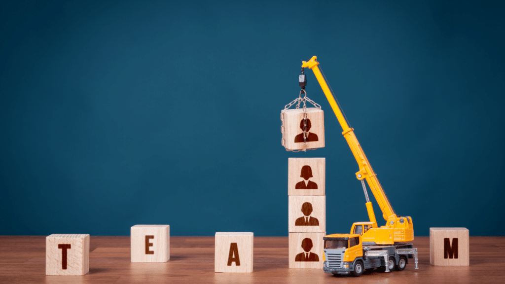 The mechanics of building a new team