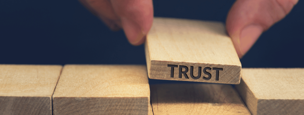 Vulnerability leads to trust
