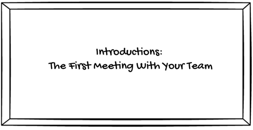 First Steps In Management: Introductions
